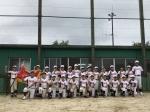第24回マクドナルド・カップ学童軟式野球大会 鳥羽支部予選優勝!